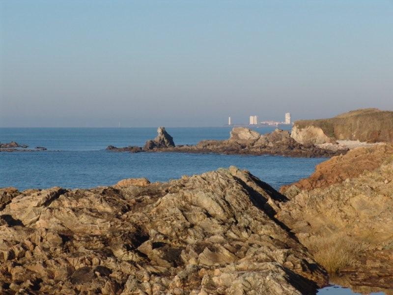 La côte rocheuse aux Sables d'Olonne