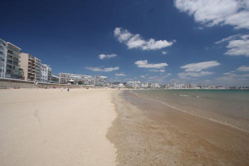 La belle plage des Sables d'Olonne