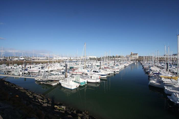 Le port de plaisance des Sables d'Olonne