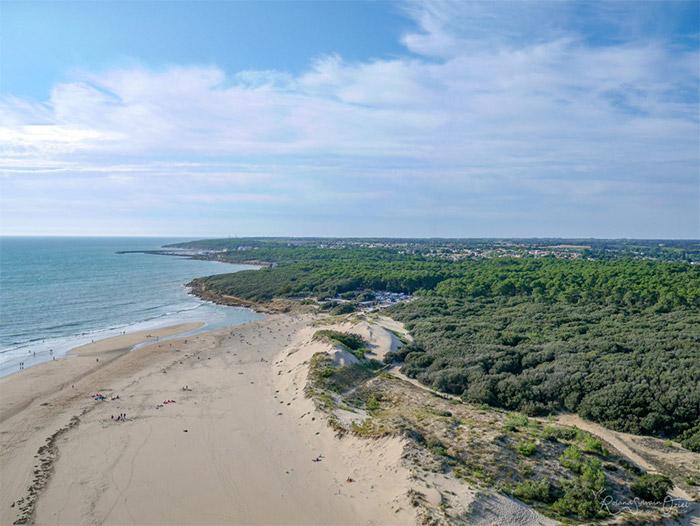 sur la côte atlantique voir la tendance du marché immobilier sur Les Sables d'Olonne